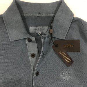 Men's Rag & Bone Polo Shirt (M)